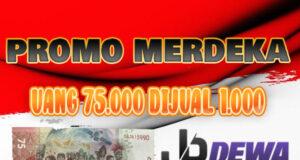 Promosi kemerdekaan tukar 1000 dapat uang baru 75,000