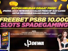 Freebet PSBB 10.000 SPADEGAMING