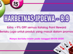 Promo 9 September 2020 Harbetnas Jpdewa