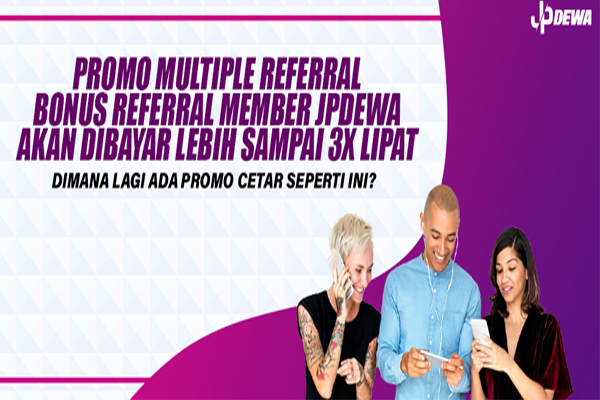Promo Multiple referral JPDewa