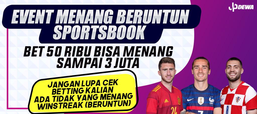 Event Winstreak Sportsbook